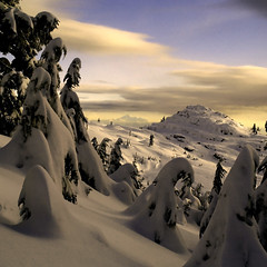 Seymour Cream (Christopher J. Morley) Tags: winter mountain snow canada cold vancouver landscape snowshoe bc hiking britishcolumbia olympus mount 500v50f northshore e3 seymour wildernesstrails hpm 50favs amazingphoto goldmedalwinner thecanadamedal platinumheartaward elitephotography goldstaraward world100f magicdonkeysbest 100commentgroup artofimages naturenotpeople landscapeworldbeauties mdtbmasterpiece