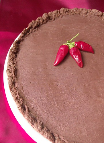 Torta al cioccolato e peperoncino