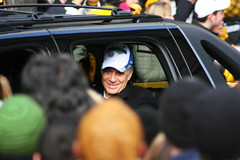 Pittsburgh Steelers President Art Rooney II (Deepak & Sunitha) Tags: pittsburgh nfl super bowl victory parade title superbowl sixth celebrate 2009 steelers champions grantstreet gosteelers terribletowel herewego steelernation xliii sixburgh slashd