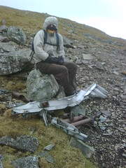wreckage of Heinkel He-111 F4801/IT+EL