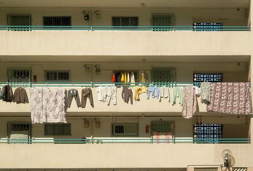 Hong Kong - Laundry Day