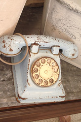 Chippy Blue Vintage Phone (such pretty things) Tags: ca blue venice shop vintage shopping la phone chippy bountiful shabbychic