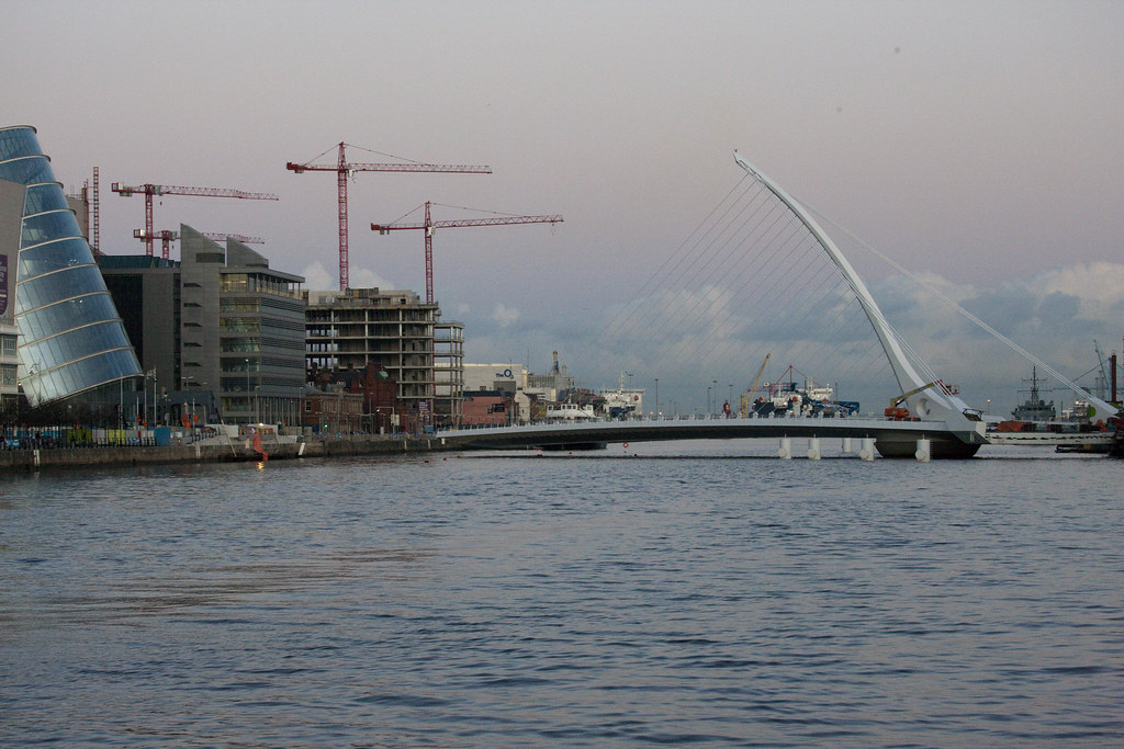 Dublin Docklands - Sunset November 2009