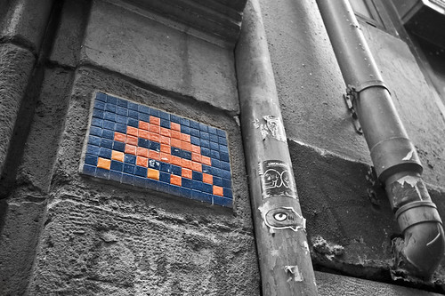 Space Invaders en Bilbao