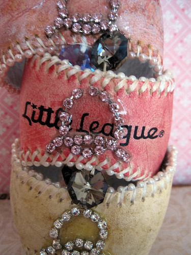 Custom Baseball Cuffs Chic! 3