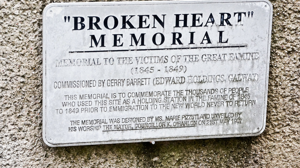 Limerick City - Broken Heart Memorial