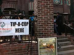 Tip a Cop @ Urth Cafe