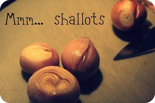 Mmm... shallots