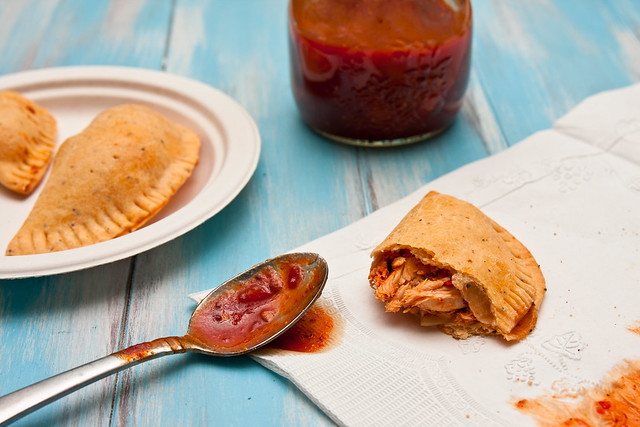 Chipotle Barbecue Chicken Empanadas