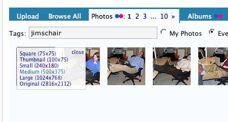 Flickr Photo Gallery Selector 2