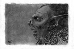 Moria Orc (Neil Tackaberry) Tags: moria orc lotr lordoftherings fanart art artwork drawing compressedcharcoal graphite pencil coatofmail willowcharcoal horror fantasy tolkien bw chainmail grotesque fantasyartwork irishartist beast movie monster ogre moriaorc macabre fan film lord rings face profile creepy portrait traditionalart illustration sideview charcoal monochrome chain mixed media mixedmedia fineart fine irishvisualartist visualart visual tackaberry neiltackaberry neilt image imageart imageartist artimage neil freehand handdrawn