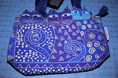 Snazzy Laurel Burch handbag