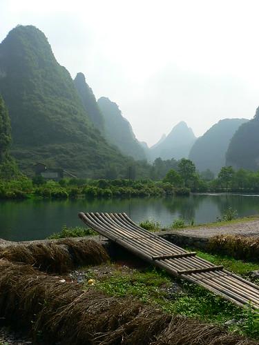 Bateau de bambou