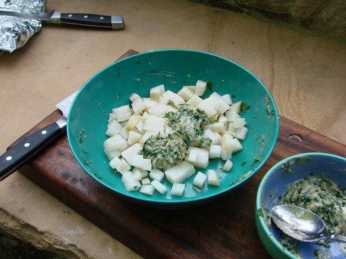 turnips with herb butter
