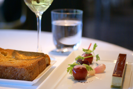 Gateau of Hudson Valley Moulard Duck Foie Gras web