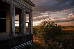 (scottintheway) Tags: sunset sky house abandoned clouds rural decay farm saskatoon neat saskatchewan hanley