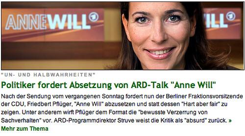 AnneWill?!