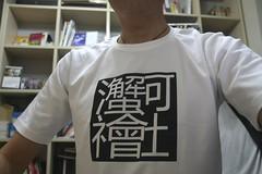 和諧社會t-shirt