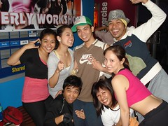 Jammers with Clark Amaba, international presenter for BODYJAM