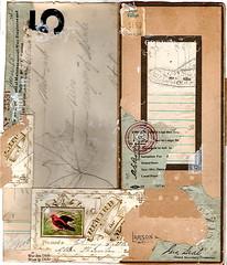 (dailypoetics) Tags: art collage vintage paper found antique ephemera