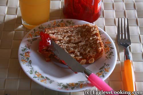Almond Butter Bread: Serve in Breakfast