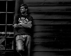 Paul. Abraham (Prabhu B Doss) Tags: portrait people bw postprocessed 50mm aperture nikon prabhu d80 nikonstunninggallery prabhub prabhubdoss abrahampaul prabhuboomibalagadoss zerommphotography 0mmphotography