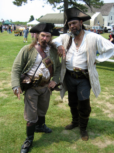 The first two pirates we encountered