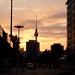 Berlin at dusk