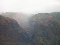 Falls in Waimea Canyon (Nonopahu Village, Hawaii, United States) Photo