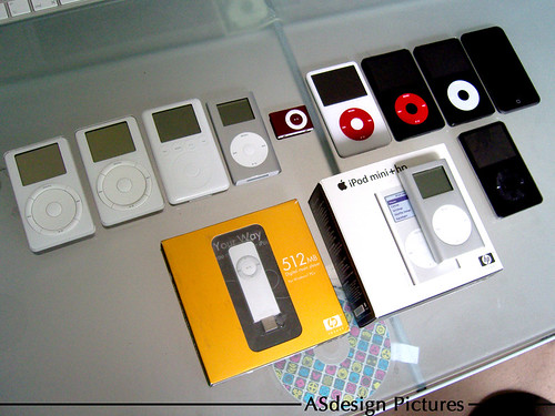 iPods and the iPod + HP