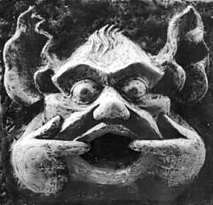 Grinning Face (Peter Salmon Sculpture) Tags: sculpture art vancouver garden petersalmon
