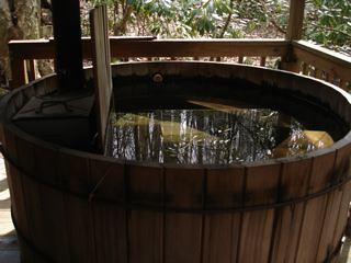 Little horse Creek hot tub