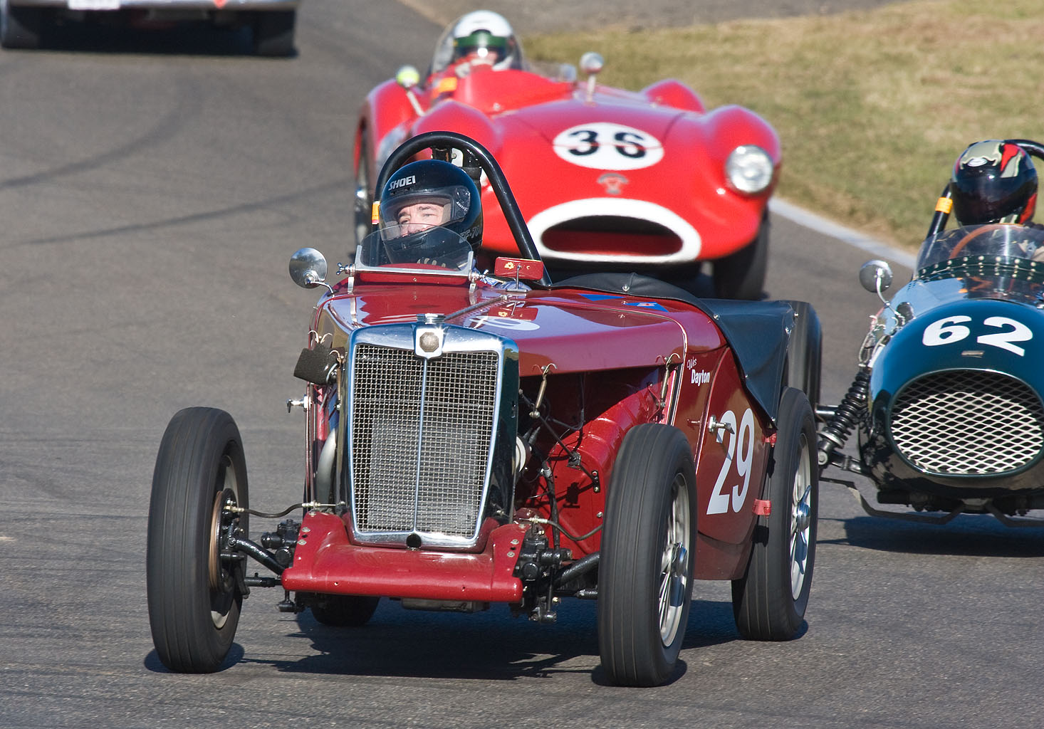 Picture of sports model MG TC, vintage car MG TC, sports model MG TC