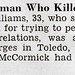 Toledo, Ohio Woman Charlene Williams Kills Female Suitor - Jet Mag, Feb 25, 1954