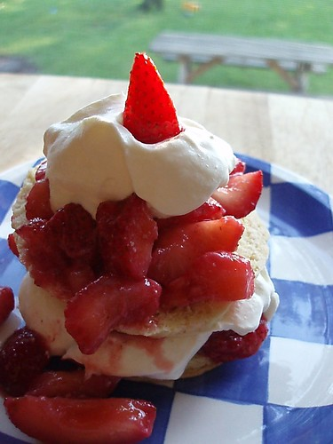 Strawberry shortcake recipe at One Big Kitchen