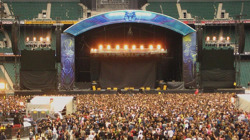Iron Maiden at Twickenham