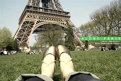 Alone, Paris (ShanLuPhoto) Tags: travel paris france tower europe alone eiffel