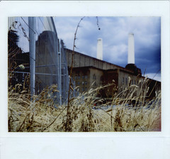 (F M J Botham) Tags: film that for is there those woah batterseapowerstation wasnt ithought kodakinstantcamera ledeluge kodakinstantek8 fujifilmfi800gt fujiinstantfilminobsoletekodakinstantcamera httpwwwunicircuitscomshop
