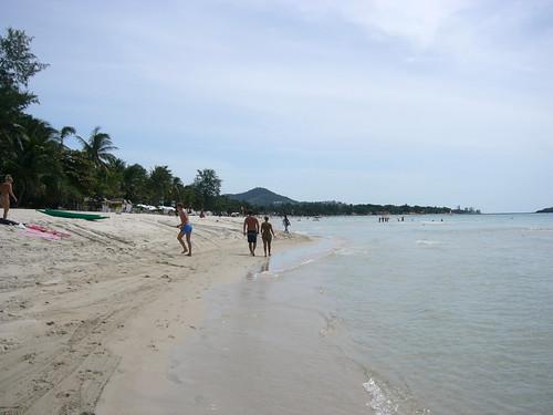 koh samui-chaweng beach(morning)-チャウエンビーチ0001