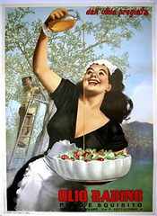 vintage poster - Olio Radino (vintageposters) Tags: original italy woman art kitchen set vintage advertising gallery post side country olive william off posters oil payne lithography olio gino ww11 radino boccasile householding