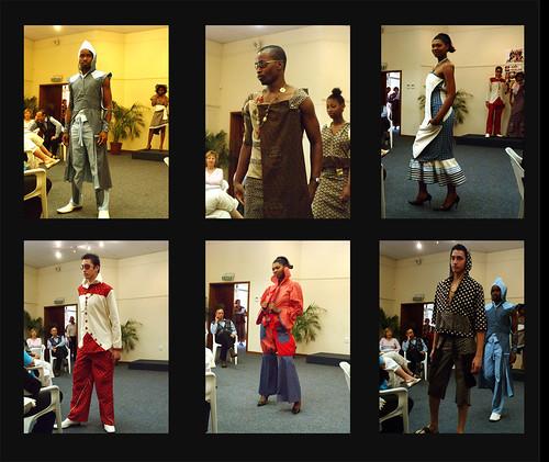 Shweshwe cloth fashion show