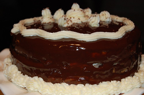 Filbert Gateau with Praline Buttercream