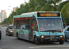South Beach Local (So Cal Metro) Tags: bus metro miami solo transit shuttle miamibeach southbeach minibus nabi mdt optare miamidadetransit