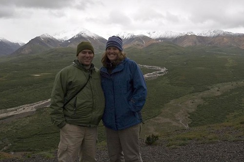 Us at Polychrome Pass