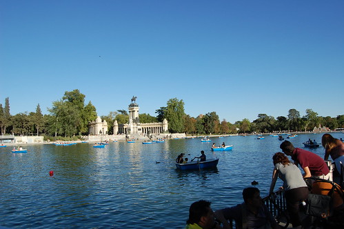 5ª tarde: lago del Retiro