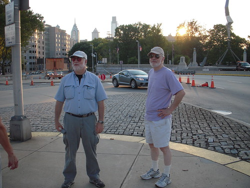 Steve and Ed after our walk