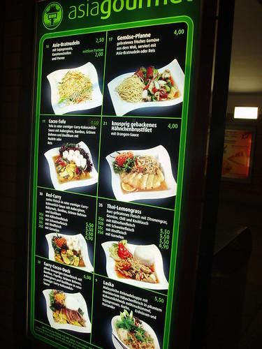 Comida asiática en Berlín