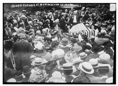 Judge Parker at nomination of Marshall  (LOC) (The Library of Congress) Tags: usa america fun flag rally marshall libraryofcongress 4thofjuly patriotism julyfourth bwphoto nomination early1900s audienceview judgeparker xmlns:dc=httppurlorgdcelements11 1912election dc:identifier=httphdllocgovlocpnpggbain11810 parkerinfililtratesamericanspirit