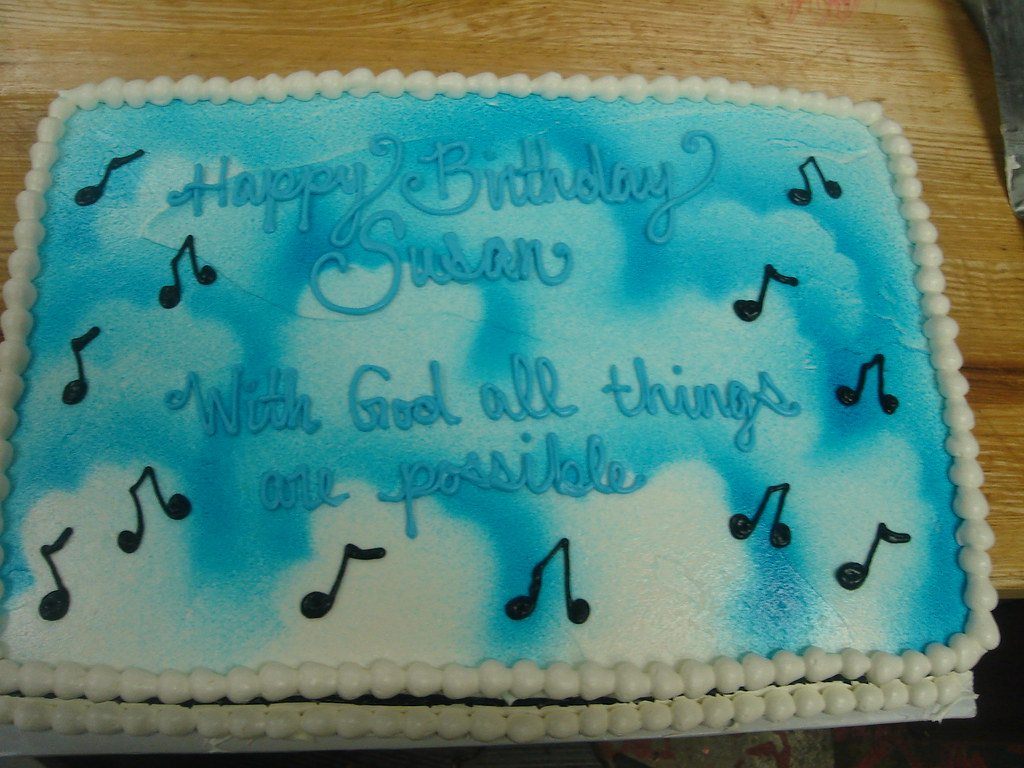 Cake Decorating Timeline Buttercream : The World s newest photos of cake and musicnotes - Flickr ...
