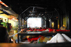 Make-shift Cinema, Gili Trawangan